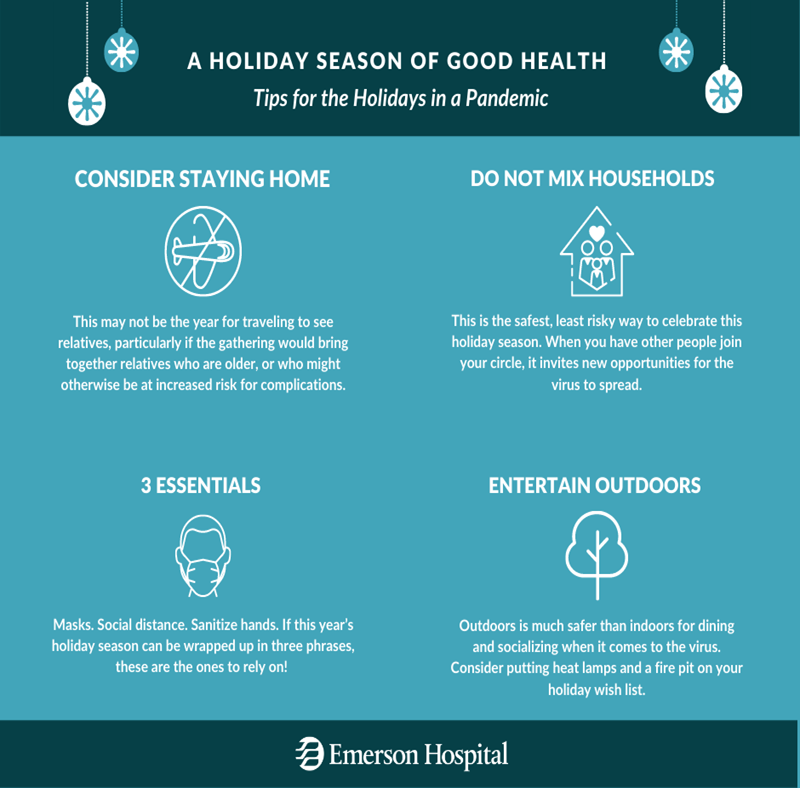Holiday safety tips in Pandemic