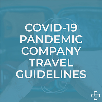 Company travel guidelines