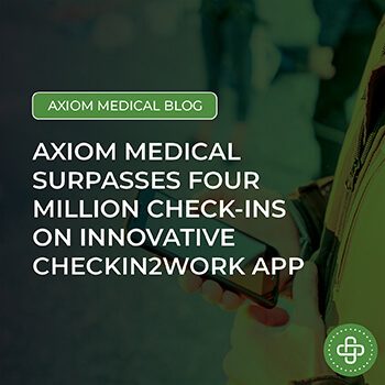 Axiom Medical surpasses four million check-ins
