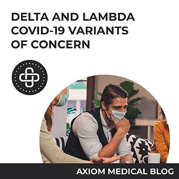 Delta and Lambda – COVID-19 Variants of Concern