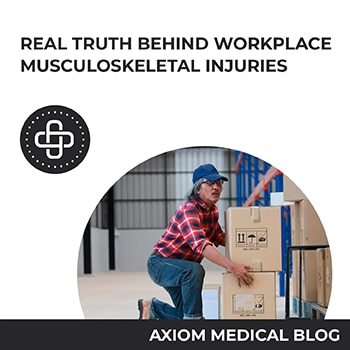 Real Truth Behind Workplace Musculoskeletal Injuries