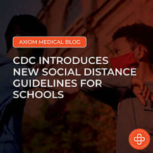 New social distance guidelines for schools