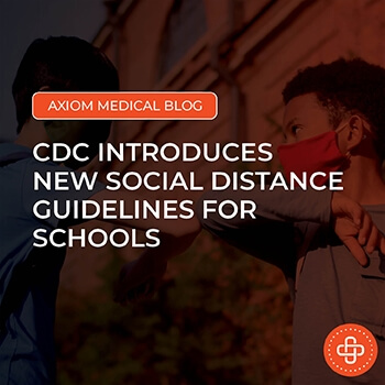 CDC Introduces New Social Distance Guidelines for Schools
