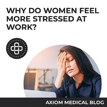 Why Do Women Feel More Stress At Work?